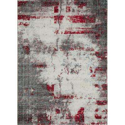 Loft Gray 8 ft. x 10 ft. Indoor Area Rug