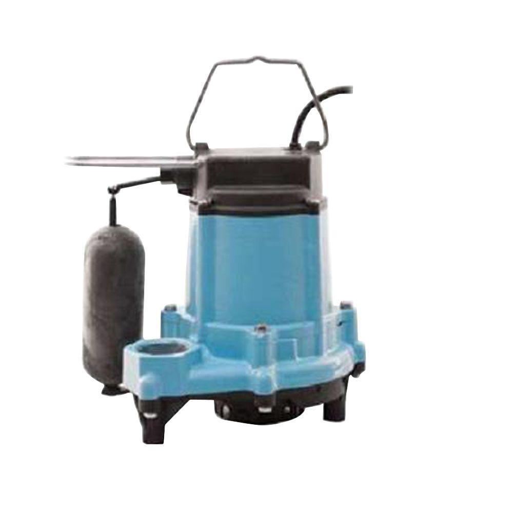 6EN-CIA-SFS 1/3 HP Submersible Sump/Effluent Pump