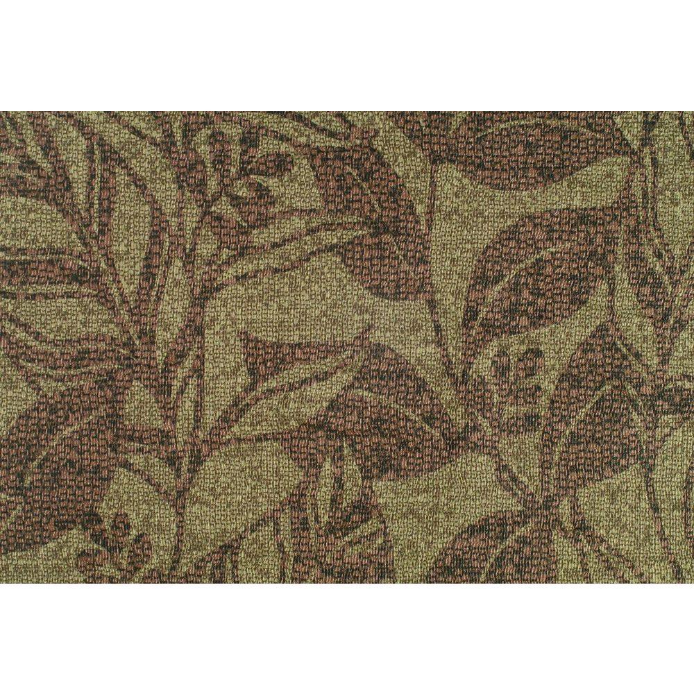 True Brown Large Vine Mosaic Texture Wallpaper