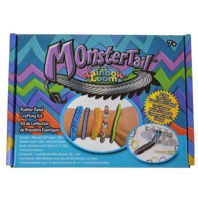 600-Piece Rubber Band Monster Tail Loom Kit