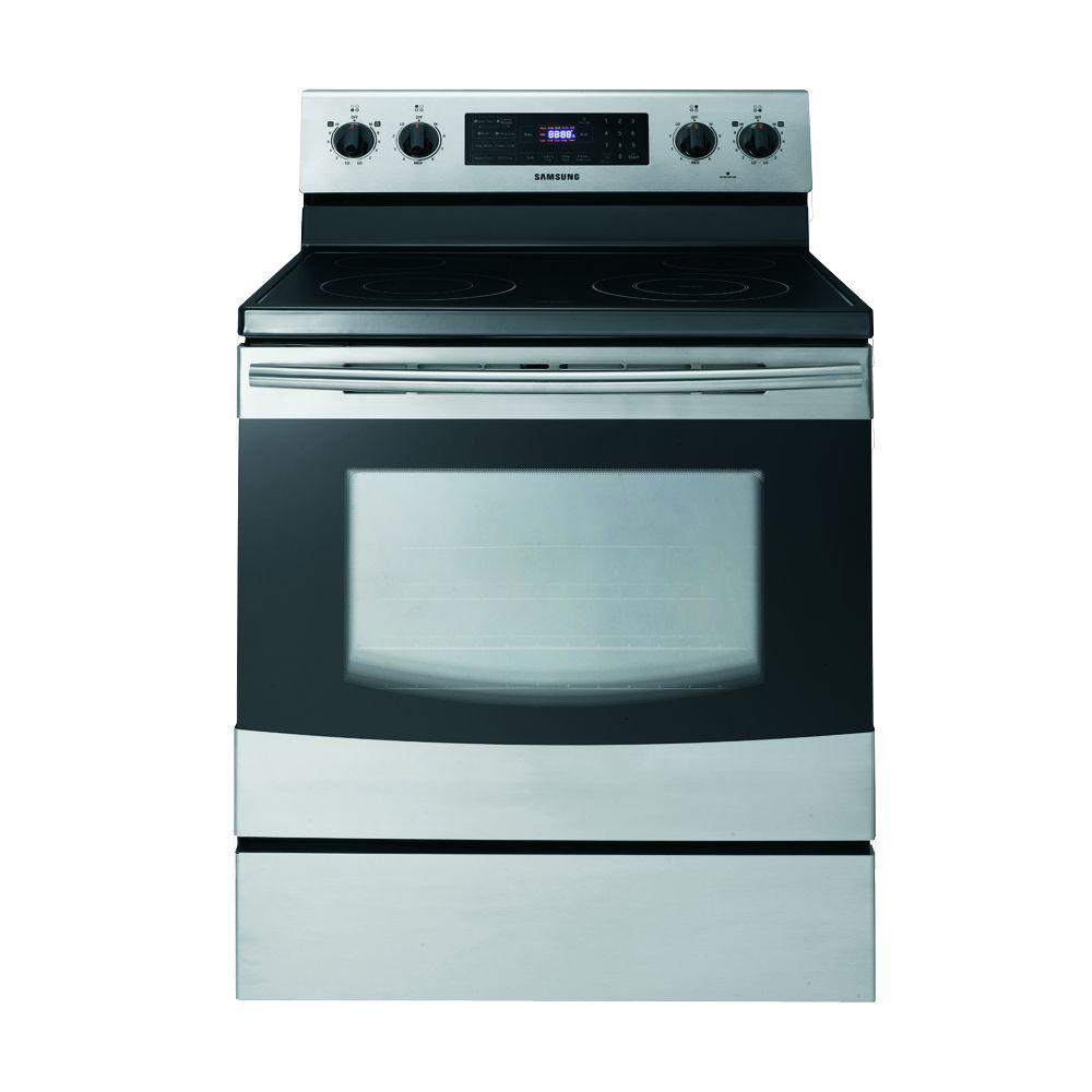 Samsung 5.9 cu. ft. Electric Range with Self-Cleaning in Stainless Steel