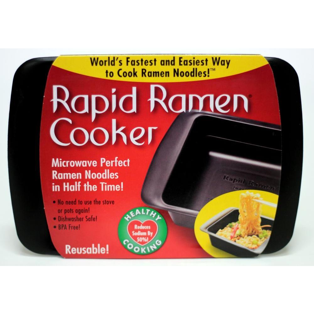 Black Microwave Noodle Cooker