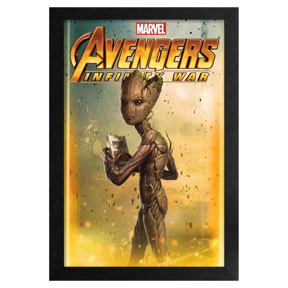 Avengers - Infinity War - Groot 11x17 Framed Print