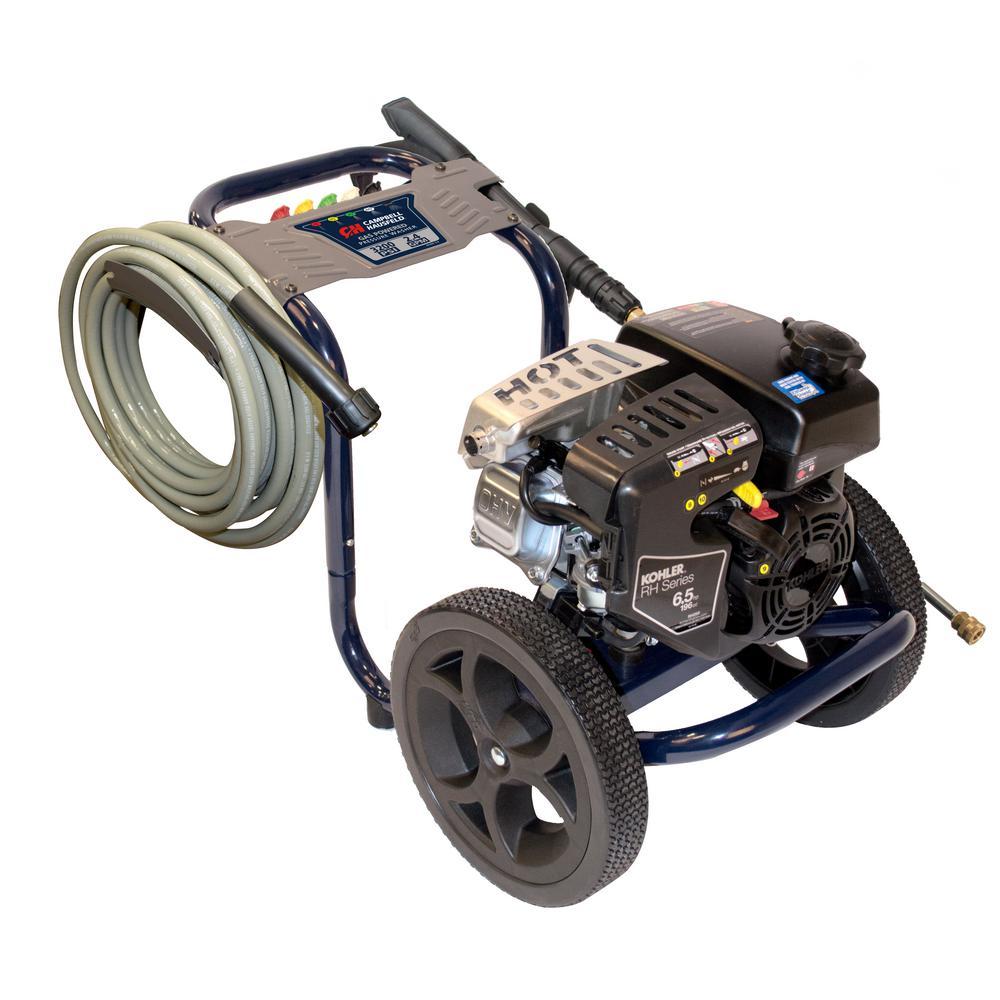 Campbell Hausfeld Pressure Washer 3200 Psi 2 4 Max Gpm