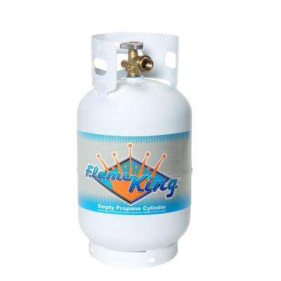 11 lb. Empty Propane Cylinder with Overflow Protection Device