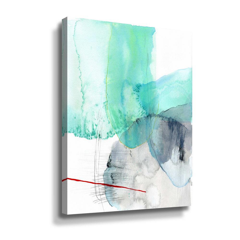 'Beach study I' by  Elisa Sheehan Canvas Wall Art