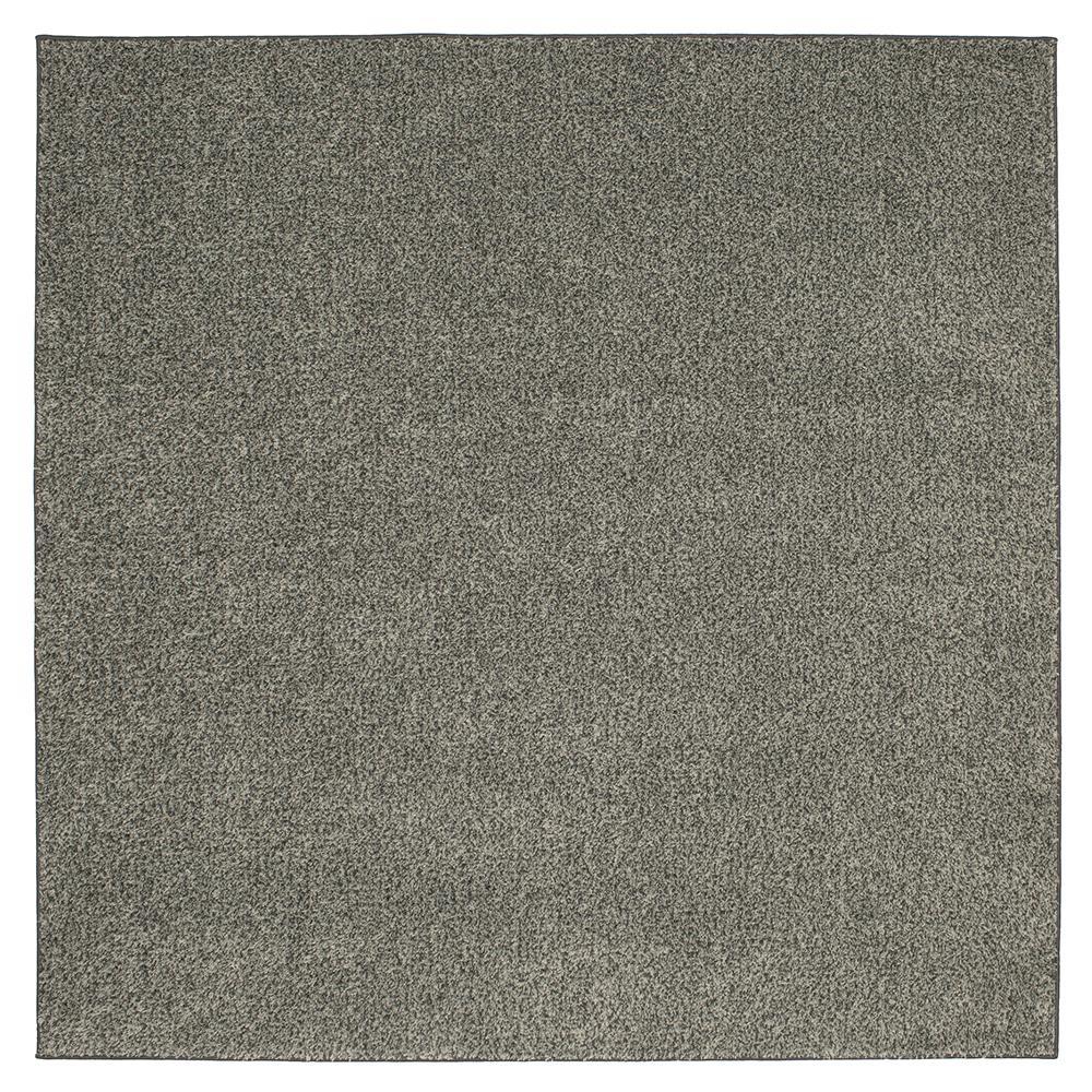 Summit Tweeds Grey 8 ft. x 8 ft. Square Indoor Area Rug