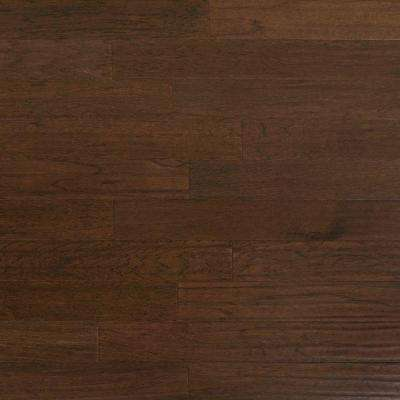 Scraped Hickory Ember 3/8 in. Thick x 4-3/4 in. Wide x Random Length Engineered Click Hardwood Flooring (33 sq.ft./case)