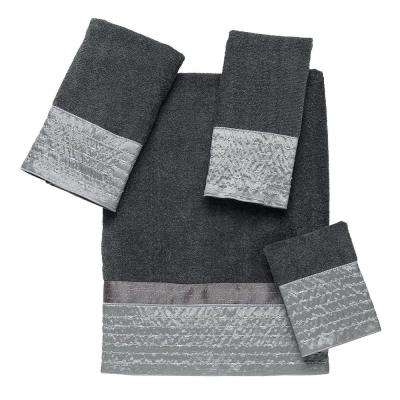 Lexington 4-Piece Bath Towel Set in Granite