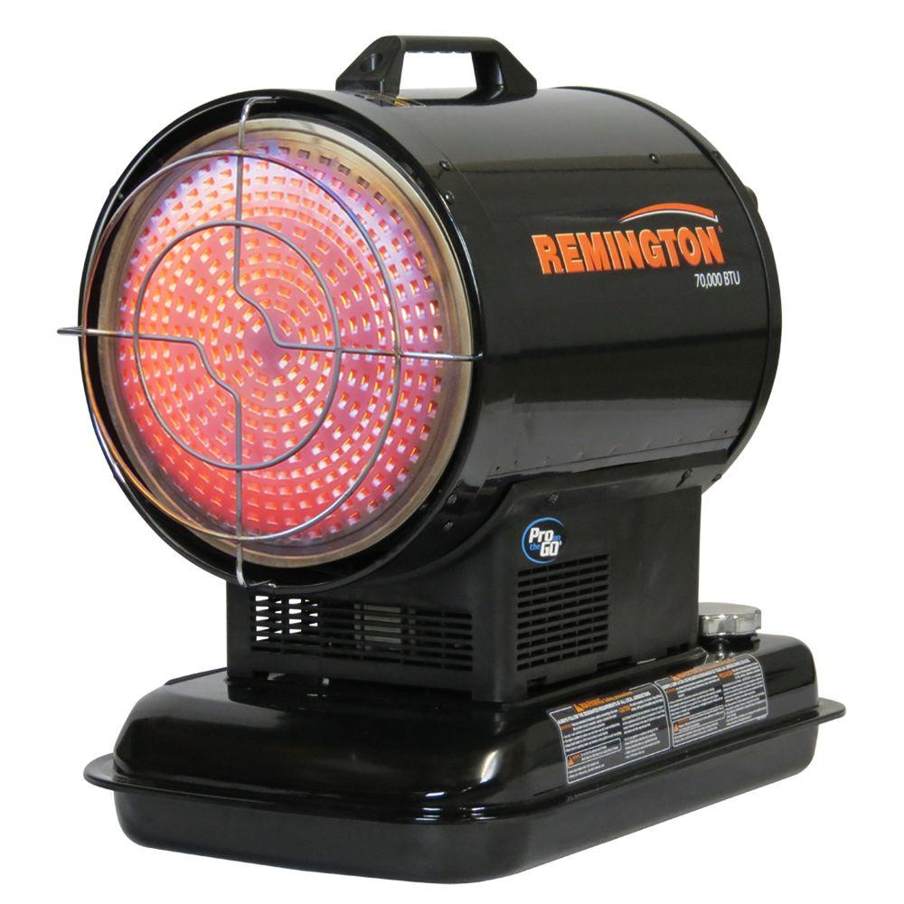 Heat Stream 70 000 Btu Radiant Kerosene Portable Heater Hs