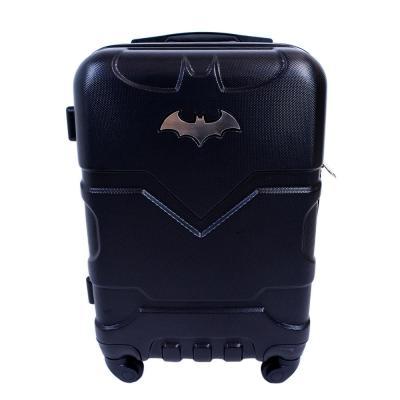 Batman 21 in. Black Hard Sided Carry-On Luggage Spinner