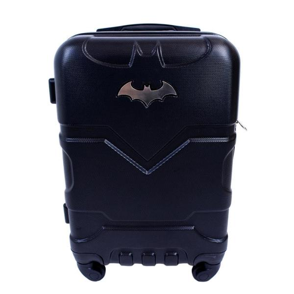 DC Comics Batman 21 in. Black Hard Sided Carry-On Luggage Spinner