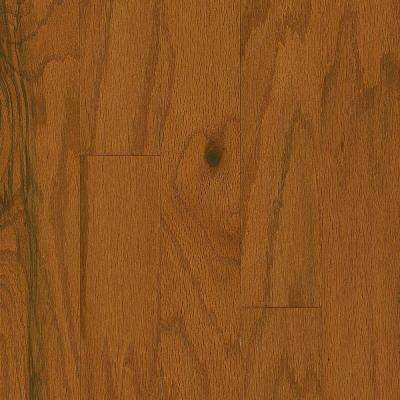 Plano Oak Gunstock 3/8 in. Thick x 5 in. Wide x Varying Length Engineered Hardwood Flooring (30 sq. ft. / case)