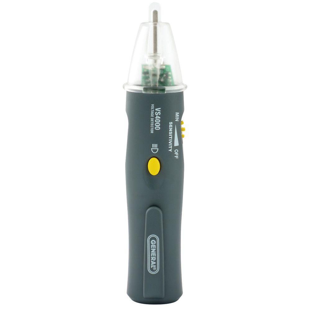 Non Contact Voltage Tester : General tools audible visual non contact voltage detector