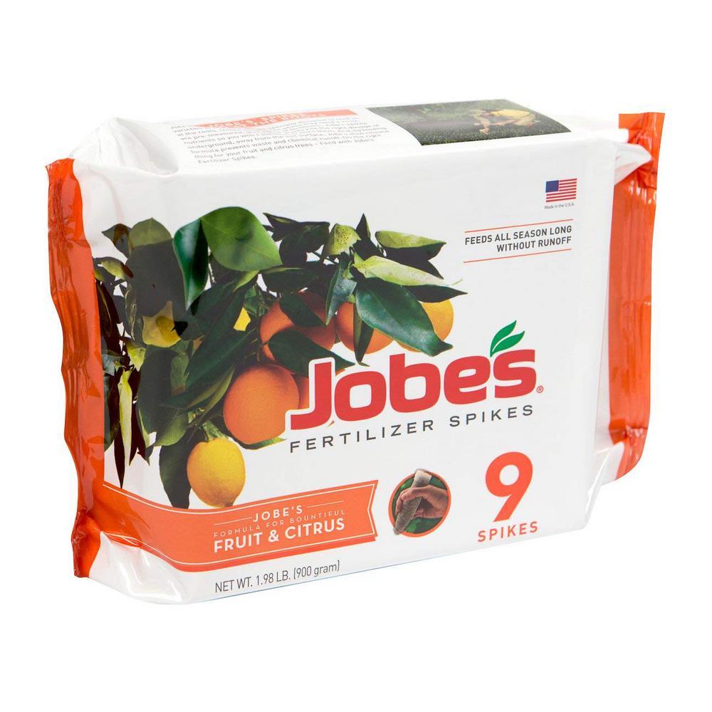 2.2 lb. Fruit and Citrus Fertilizer Spikes, (9-Pack)