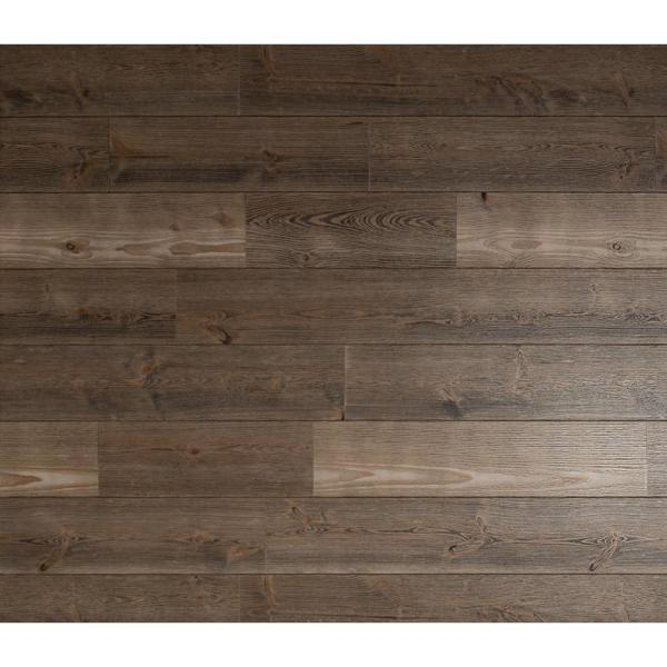 American Pacific 1 4 In X 48 In X 96 In Barnwood Gray Wood Shiplap Panel L 52 9100 The Home Depot