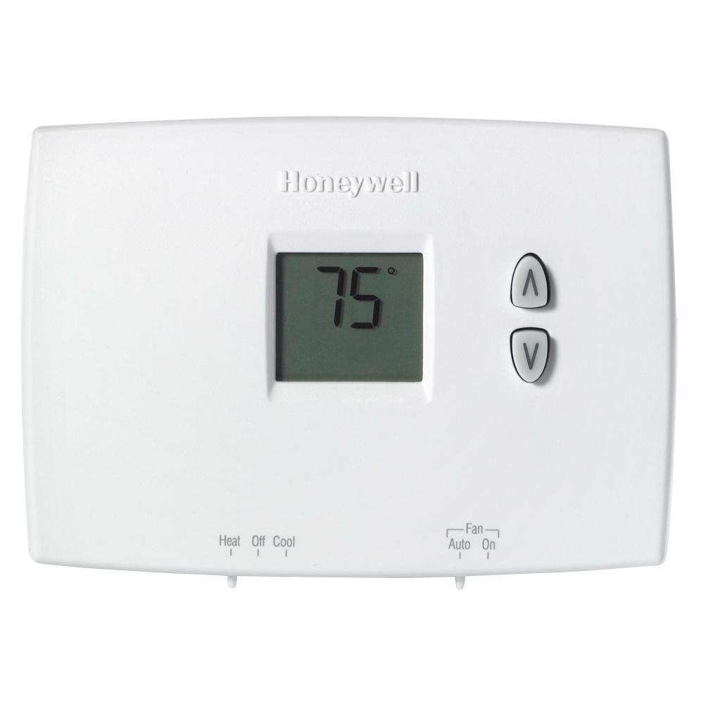 Honeywell Horizontal Digital Non-Programmable Thermostat
