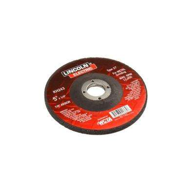 5 in. x 1/4 in. Type 27 Grinding Wheel