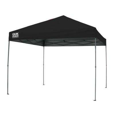 Expedition 10 ft. x 10 ft. Black Instant Canopy