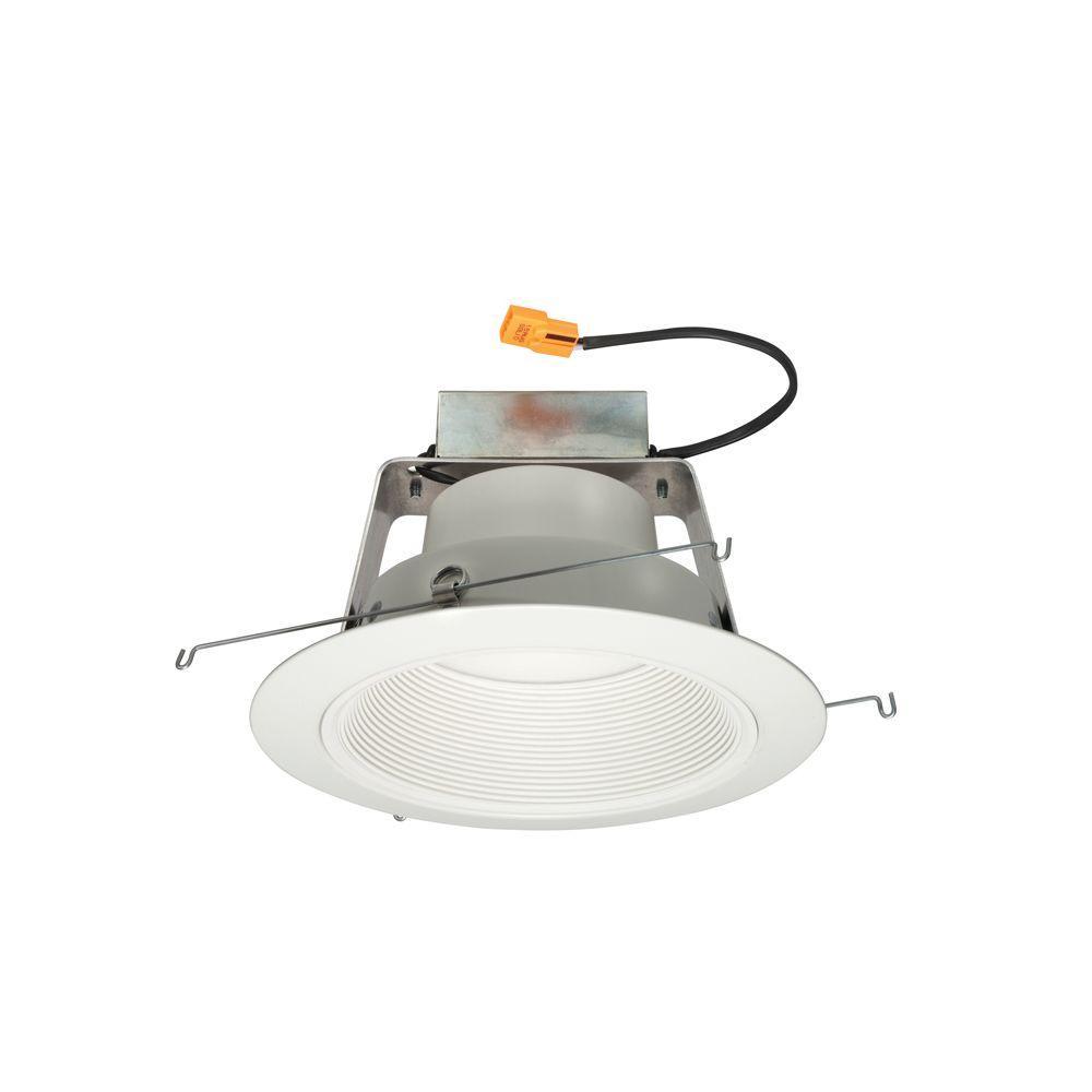 White Recessed Baffle LED Warm Dim Downlight Retrofit Trim Module  sc 1 st  The Home Depot & Juno - Recessed Lighting - Lighting - The Home Depot azcodes.com