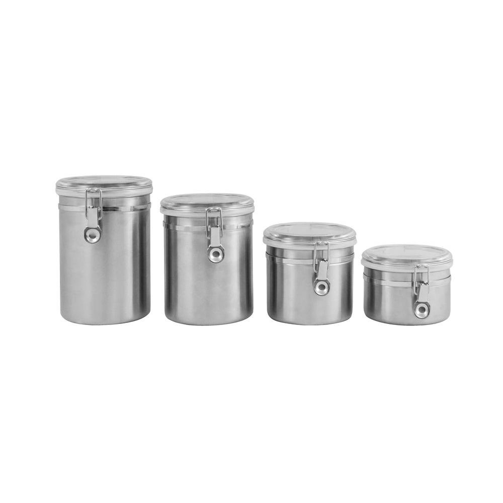 Ragalta 4 Piece Stainless Steel Canister Set Rca045 The
