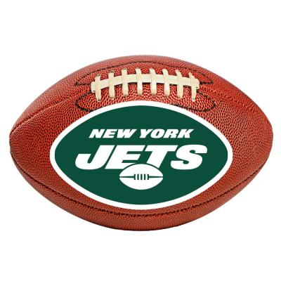 NFL New York Jets Photorealistic 20.5 in. x 32.5 in Football Mat