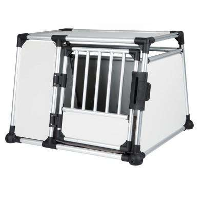 36.5 in. L x 31.75 in. W x 25.5 in. H Extra-Large Metallic Transport Crate