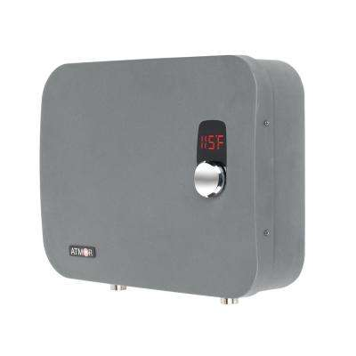 PRO 27,000-Watt 5.35 GPM Electric Tankless Water Heater Ideal For 3 Bedroom Home Up To 6 Simultaneous Applications
