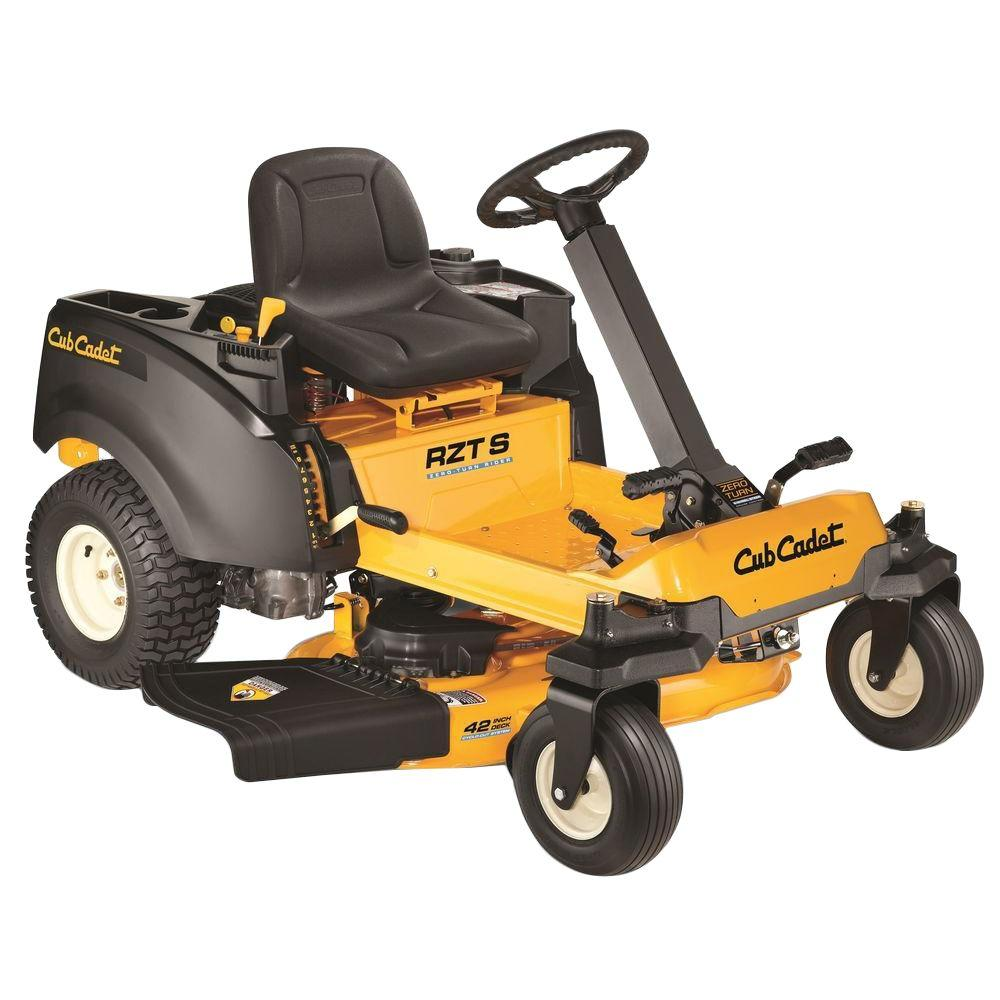 Cub Cadet RZT-S 42 in. 22 HP V-Twin Dual Hydrostatic Zero-Turn Riding Mower with Steering Wheel Control-DISCONTINUED