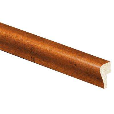 11/16 in. x 1-3/8 in. x 96 in. Polystyrene Whiskey Maple Cap Moulding (Pack of 5)