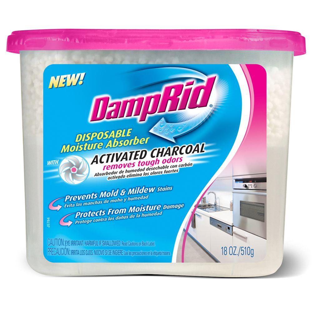 DampRid 18 oz. Disposable Moisture Absorber with Activate...