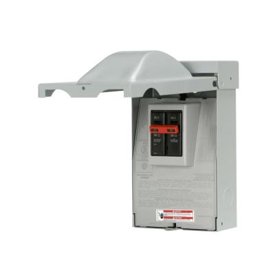 GE 60 Amp 240-Volt Fused AC Disconnect-TF60RCP - The Home Depot Ac Fuse Box Home Depot on