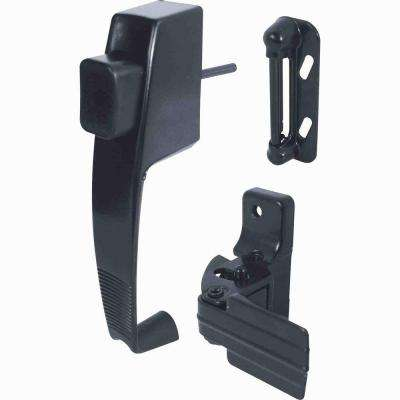 1-3/4 in. Swinging Screen Door Push-Button Latch Set