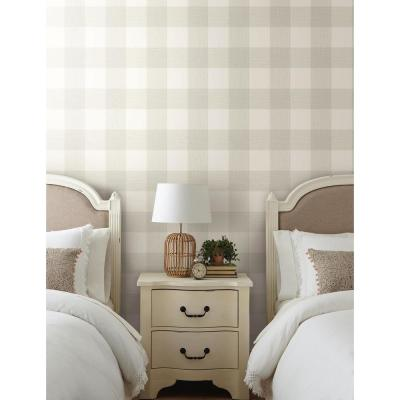Common Thread Paper Strippable Wallpaper (Covers 56 sq. ft.)