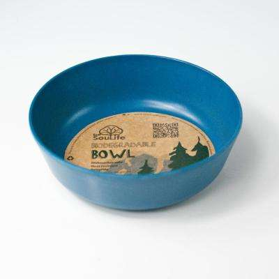 16 oz. Navy Bamboo Bowl (6-Pack)