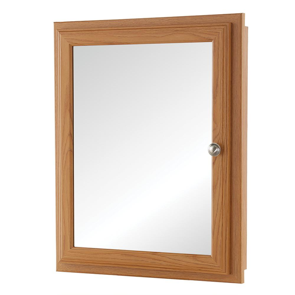 20-3/4 in. x 25-3/4 in. Fog Free Framed Recessed or Surface-Mount