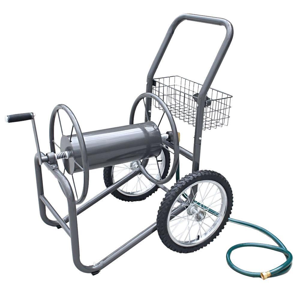 Liberty Garden 300 ft. 2-Wheel Industrial Hose Cart by Liberty Garden