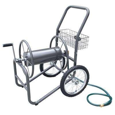 300 ft. 2-Wheel Industrial Hose Cart