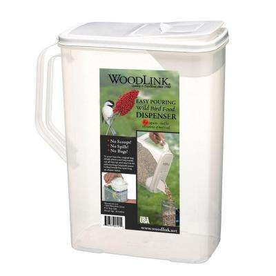 8 Quart Dual-Pour Seed Container