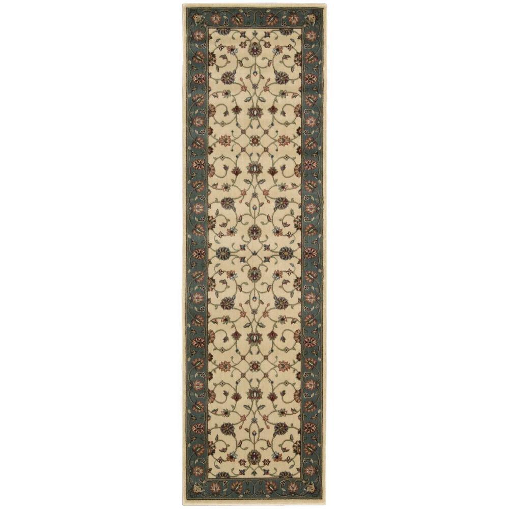 Nourison Persian Arts Marlik Ivory 2 ft. x 8 ft. Runner Rug