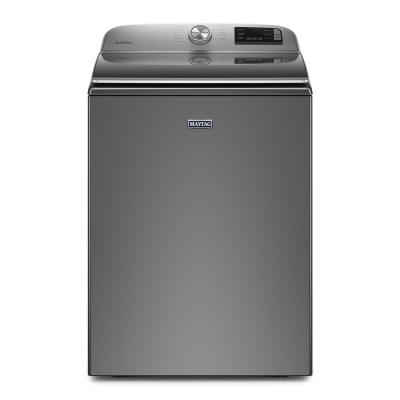 Lg Electronics 5 0 Cu Ft He Mega Capacity Smart Top Load Washer W Turbowash3d And Wi Fi Enabled In Graphite Steel Energy Star Wt7300cv The Home Depot