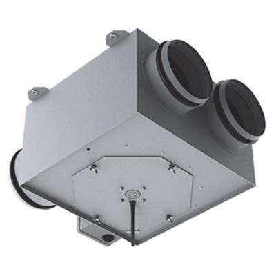 360 CFM Power 6 in. Centrifugal In-Line Ventilation Fan with Two 6 in. Inlet and One 6 in. Outlet