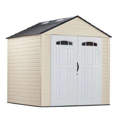 7 ft. x 7 ft. Plastic Storage Shed