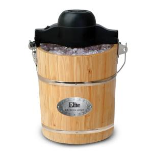 Gourmet 6 Qt. Old Fashioned Ice Cream Maker
