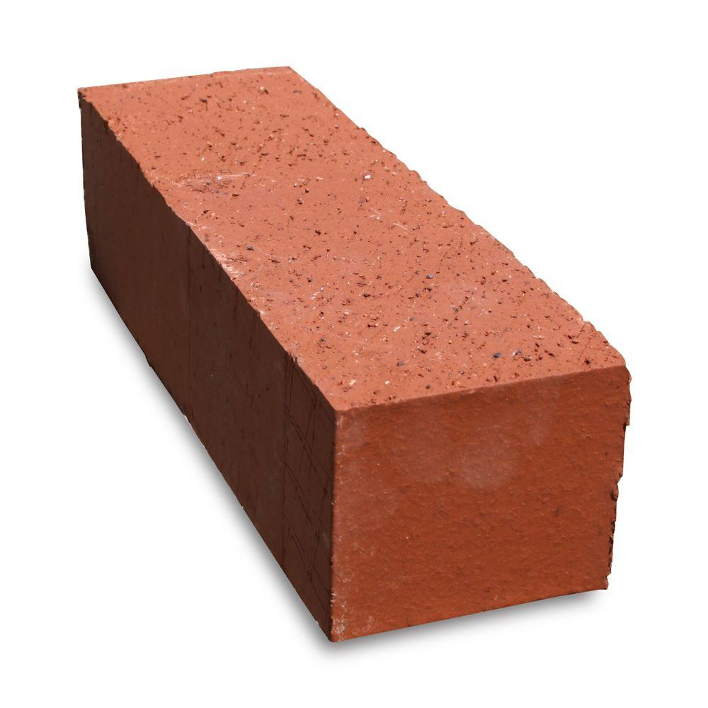 Pacific Clay Jumbo 11.5 in. x 3.5 in. x 3 in. Clay Red Edger