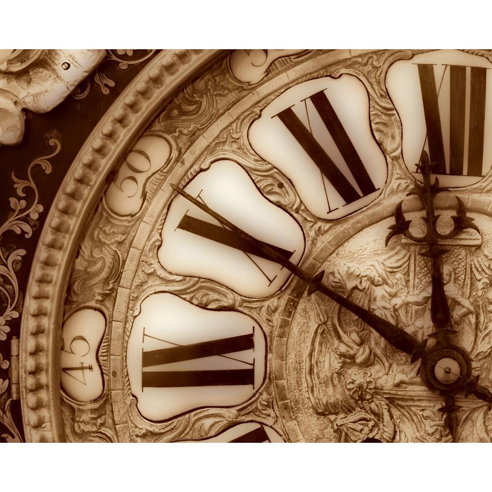 Vintage Clock Wall Mural