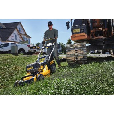 20 in. 20-Volt MAX Lithium Ion Cordless Battery Walk Behind Push Lawn Mower w/ (4) 5.0 Ah Batteries and Charger