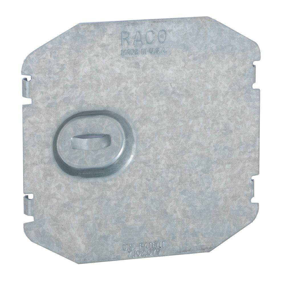 RACO 2-Device Flat Wire Protection Plate (5-Pack)