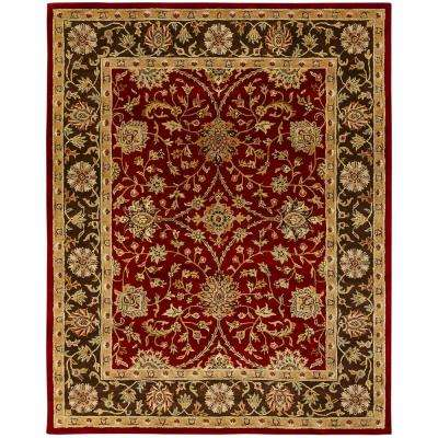 Empire Rust/Brown 6 ft. x 9 ft. Area Rug