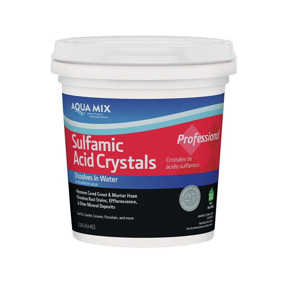 Custom Building Products Aqua Mix 1 lb. Sulfamic Acid Crystals ...